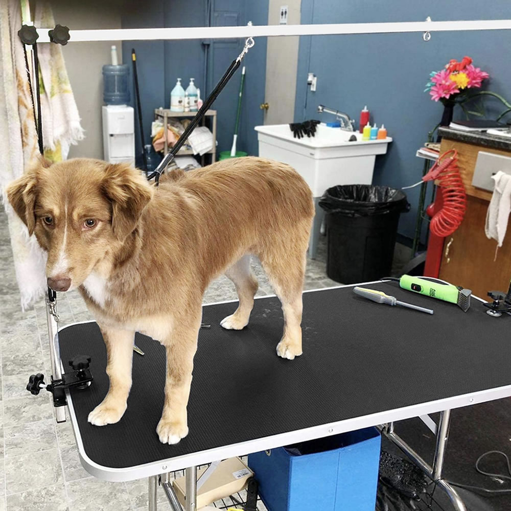 dog grooming table adjustable height
