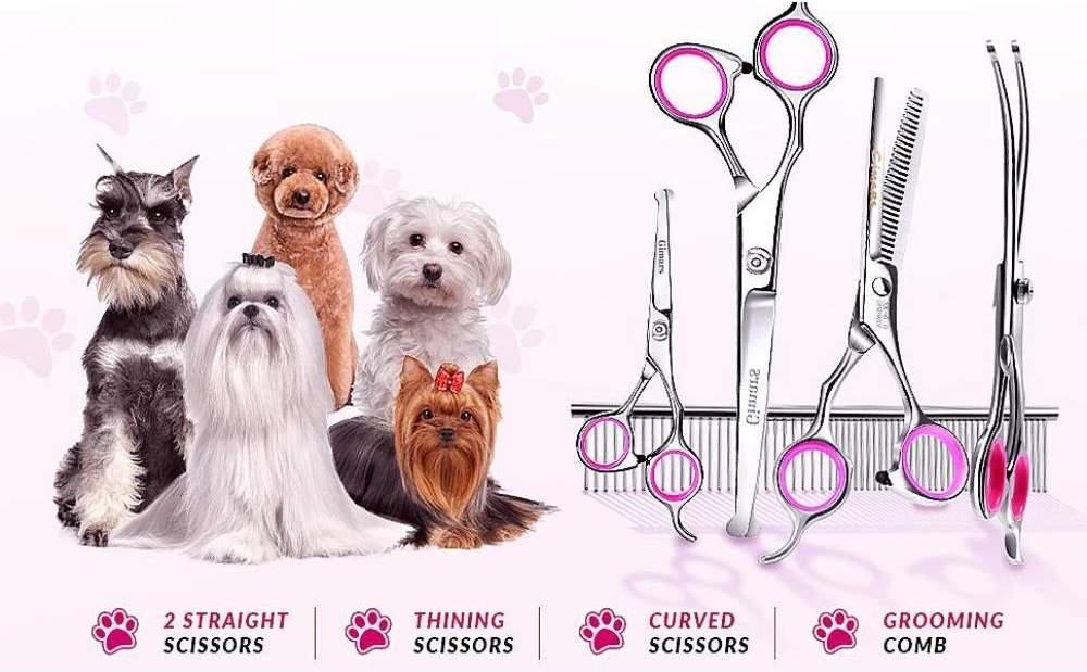 buy professional dog grooming scissors kit online
